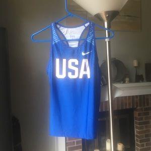 NWT Men's USA athletic Nike tank top